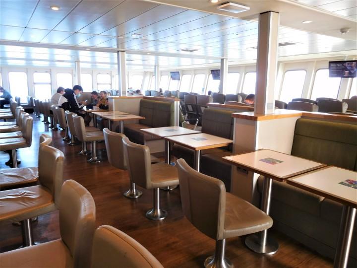 Red Funnel Ferry Inside