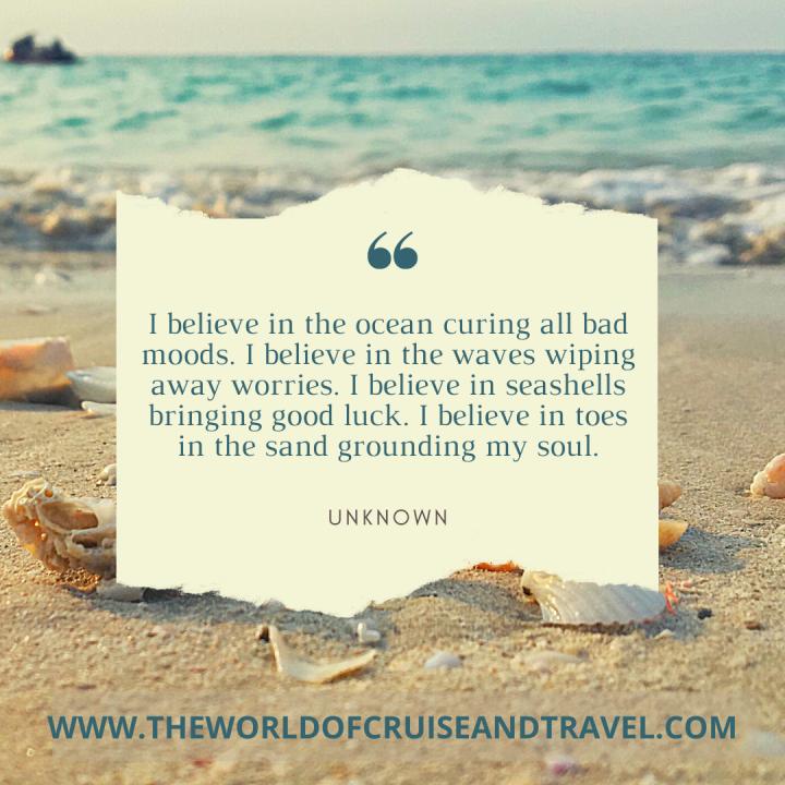 Travel Quote - Sand, Seashells and Sea (1)